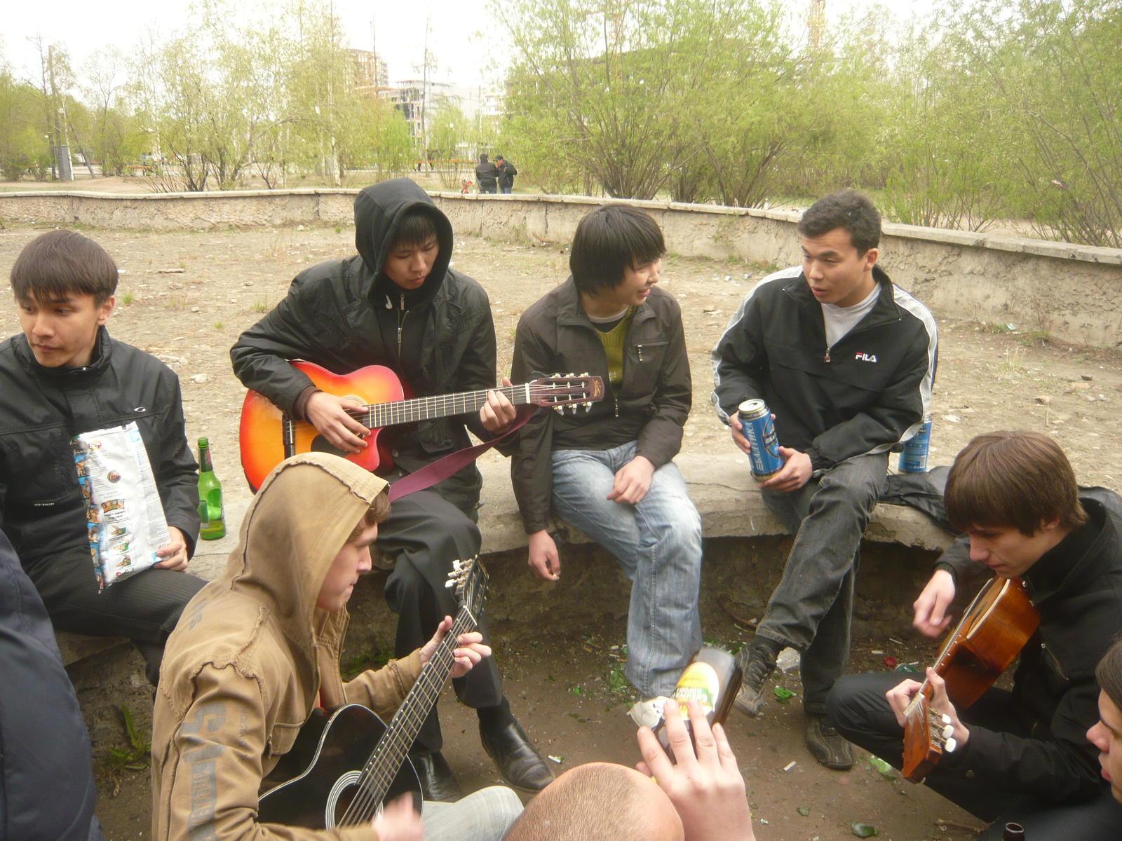 Встреча гитаристов Улановки [16 мая 2009]