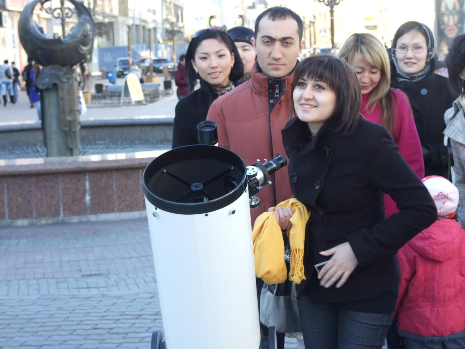 Астрономическая тротуарка [9 апреля 2011]