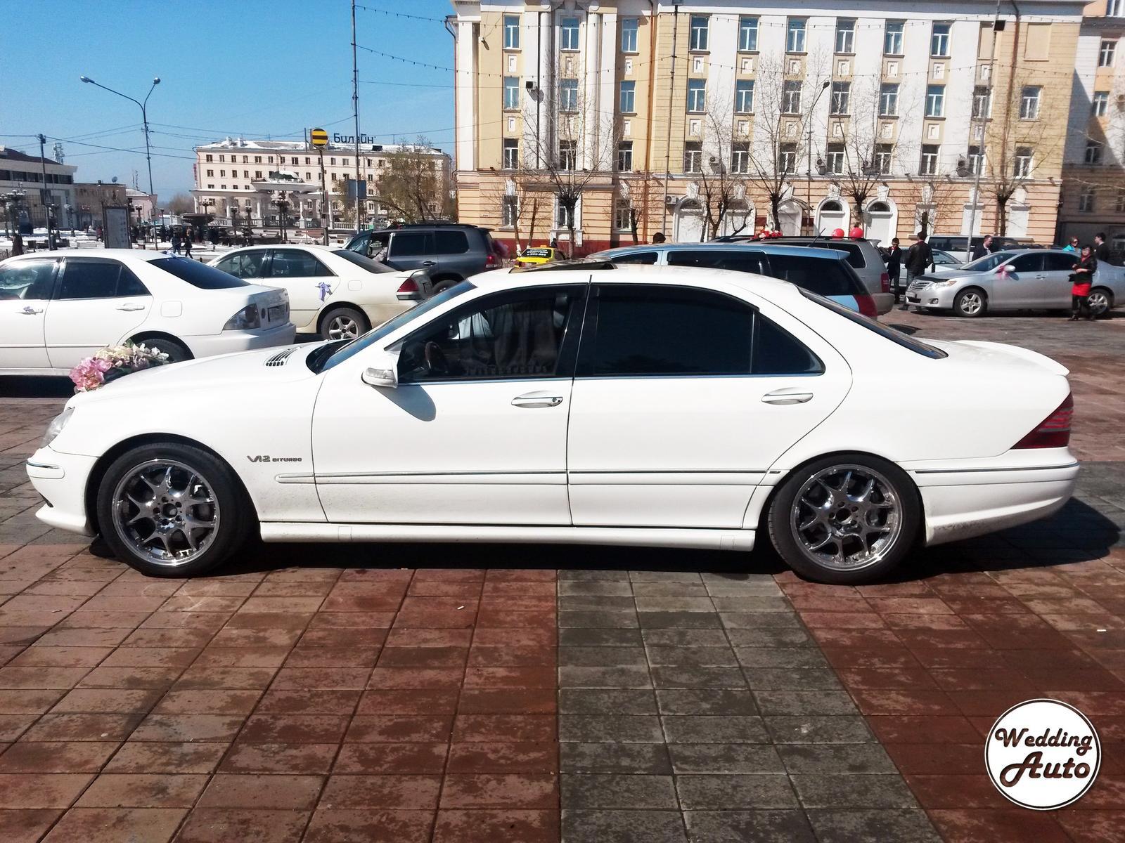 Мерседес Бенц S600 AMG LONG