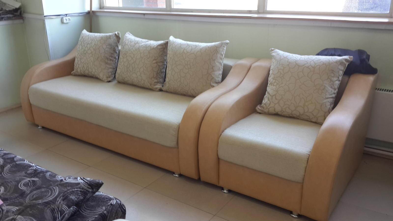 """Комплект """"Глория"""" с креслом кроватью"""
