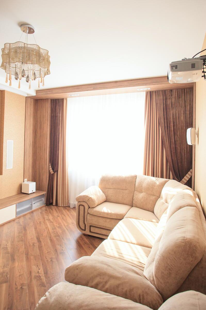 Кинозал в гостиной - одна из наших работ в Улан-Удэ 4