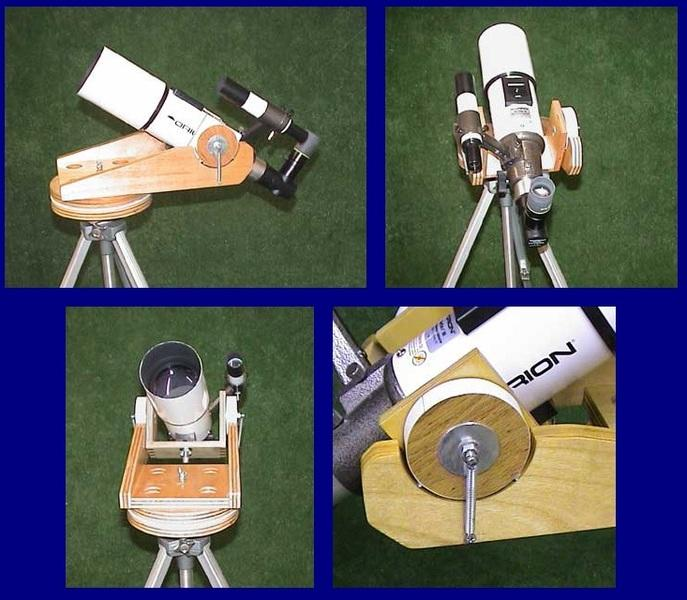Монтировка для телескопа самодельная