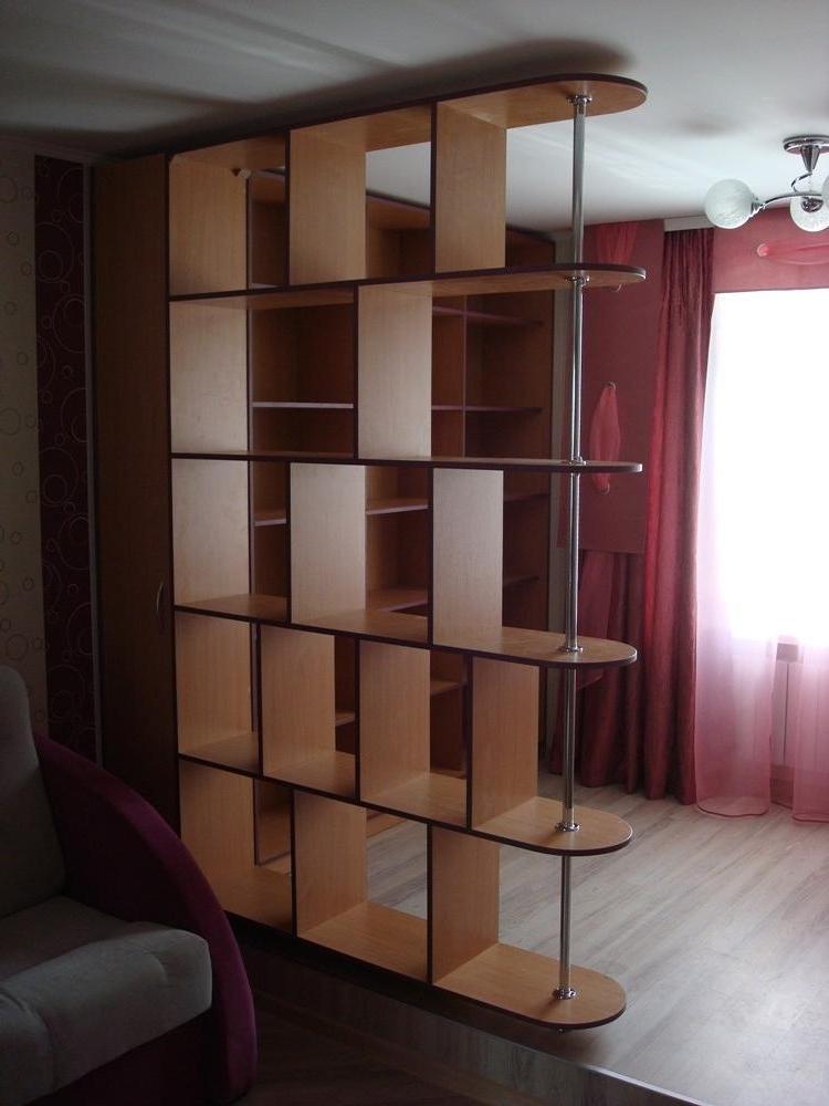 Полки перегородки для комнаты