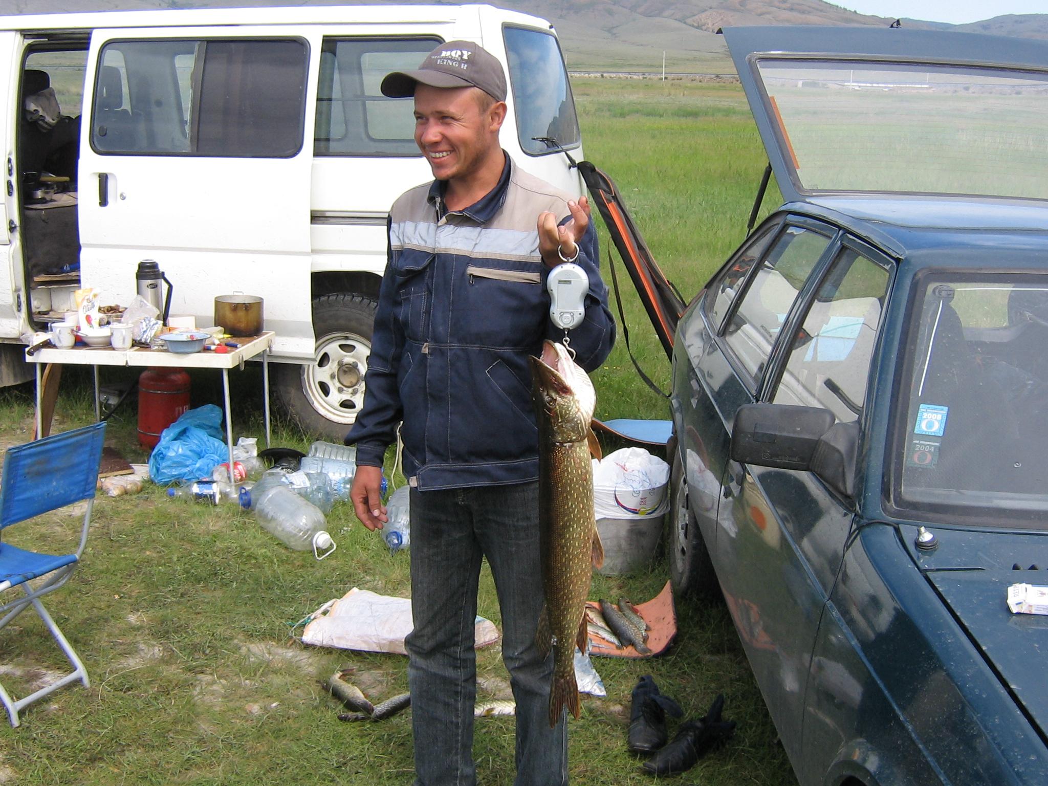 бесед рыбака