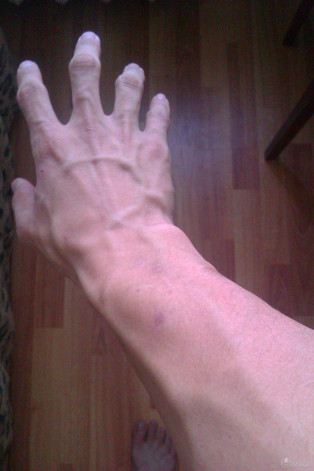 Как сделать чтобы на руках были вены на