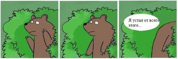 Медведь и шлюха устал я от этого