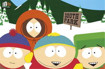 Южный парк негр кайл с яйцами в коленях